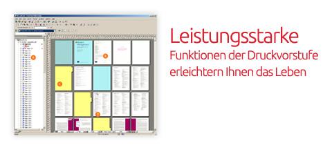 Druckvorstufe der X-NRW GmbH