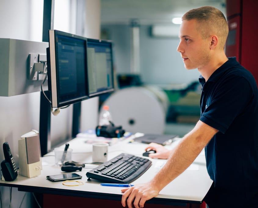 Produktionsdruck der X-NRW GmbH