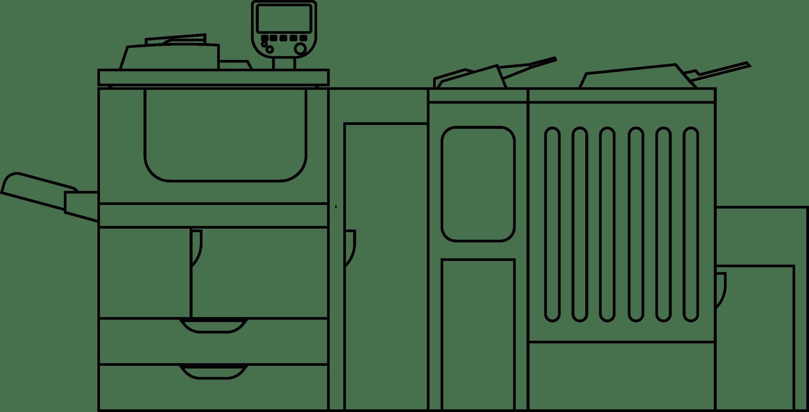 Produktionsdruck mit der X-NRW GmbH