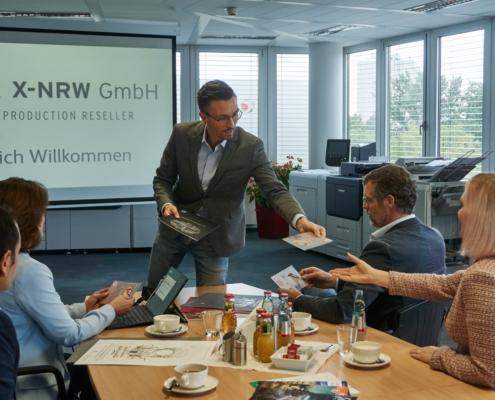 Showroom der X-NRW GmbH