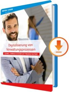 Whitepaper Download: Digitalisierung von Verwaltungsprozessen mit der X-NRW GmbH